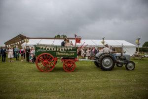 Vintage Tractor wedding