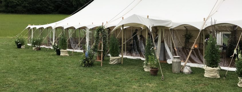 Traditional marquee exterior